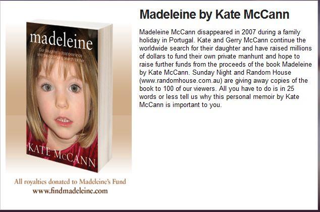 Madeline Mccann Detail: Looking For Madeleine McCann